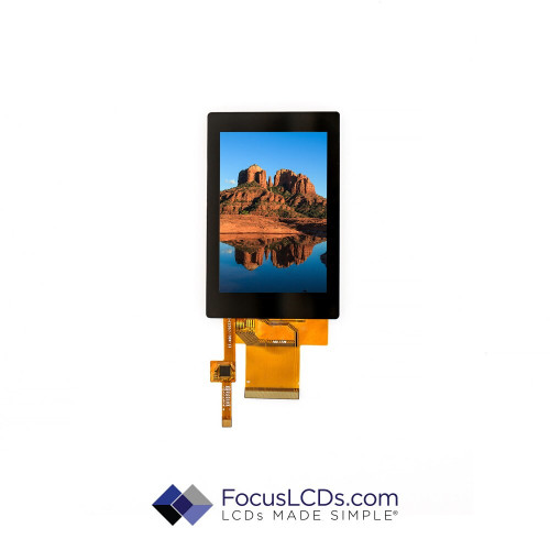 3.5 TFT Display Capacitive TP E35RG73248LW6M250-C