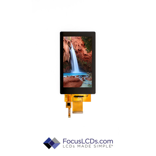 5.0 TFT Display Capacitive TP E50RG14885LBAM500-C
