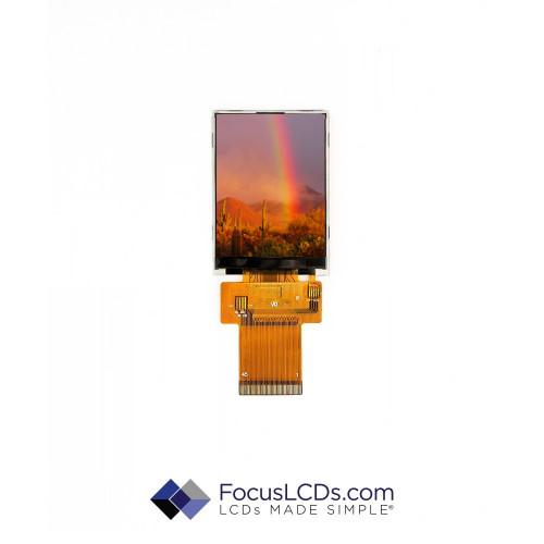 2.4 TFT Display Resistive TP E24RG12432LW6M250-R