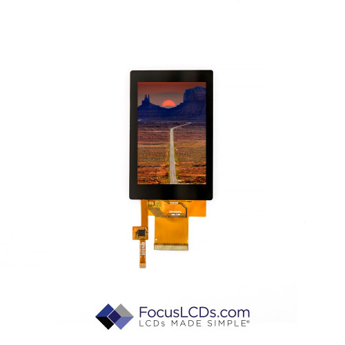 3.5 TFT Display Capacitive TP E35RG13248LW2M450-C