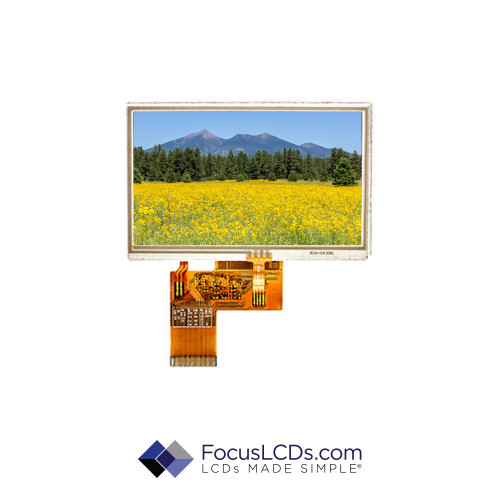 4.3 TFT Display Resistive TP E43RG63248LW2M170-R