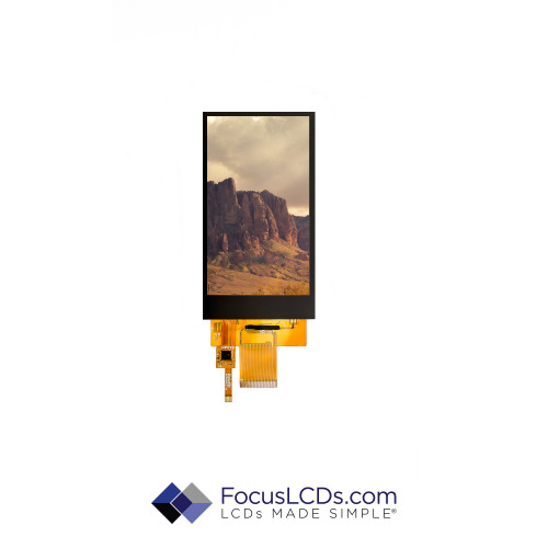 5.0 TFT Display Capacitive TP E50RG84885LWAM520-CA
