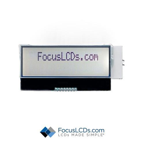16x2 FSTN Character LCD C162NLGFGSW6WT3CXAH