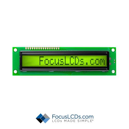 16x1 STN Character LCD C161BXBSYN06WT05XAA1