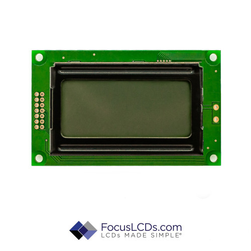 8x2 STN Character LCD C82BXBSGN02WR2