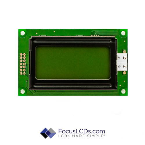 8x2 STN Character LCD C82BXBSGLY2WT1