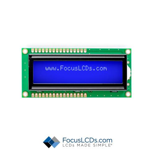 16x2 STN Character LCD C162ALBSBSW6WN55XAA