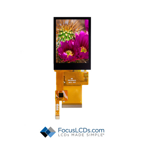 2.4 TFT Display Capacitive TP E24RG12432LW2M300-C