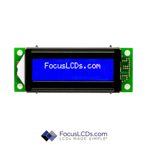 16x2 STN Character LCD C162ALBSBSW6WN33PAB