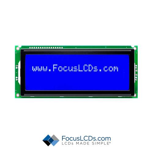20x4 STN Character LCD C204BLBSBSW6WN33PAB