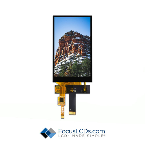 4.3 TFT Display Capacitive TP E43RB-FW405-C