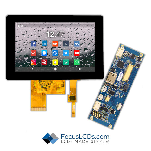 "5.0"" TFT HDMI Kit for E50RG68048LW2M350-C"