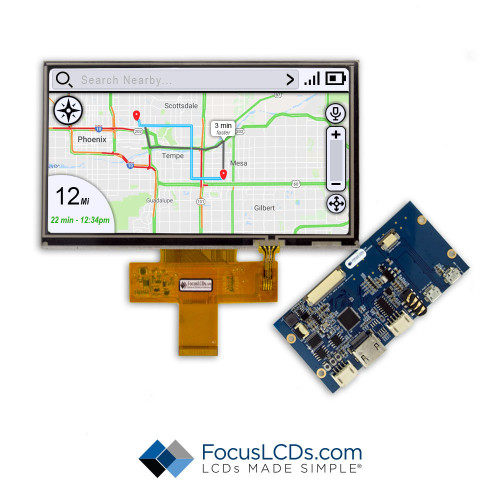 "7.0"" TFT HDMI Kit for E70RG38048LW2M430-R"