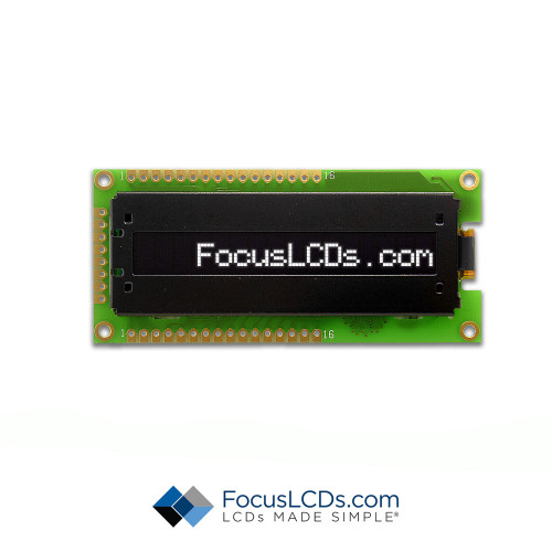16x1 Character OLED O161A-CW-SS5