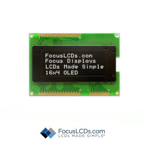 16x4 Character OLED O164A-CW-SS3