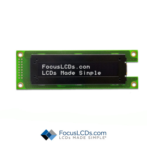 20x2 Character OLED O202A-CW-SW3