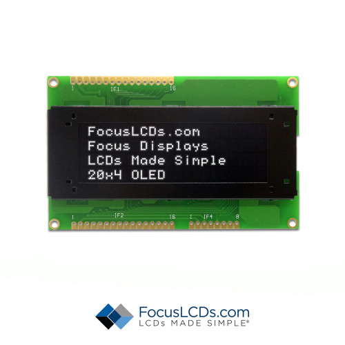 20x4 Character OLED O204A-CW-SW3