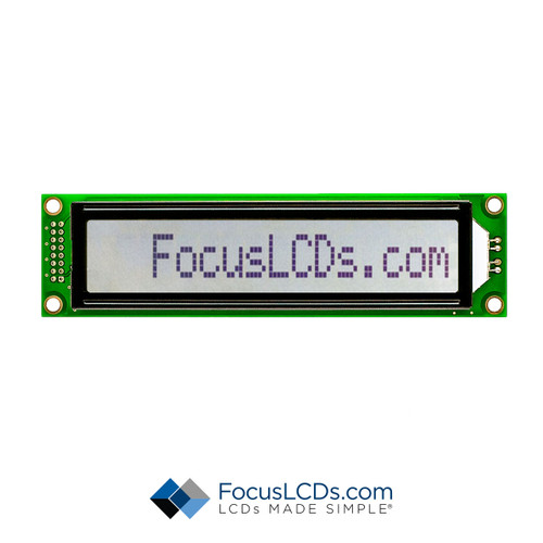 16x1 FSTN Character LCD C161CLBFKSW6WT55XAA