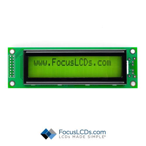 20x2 FSTN Character LCD C202B-FTG-LW65