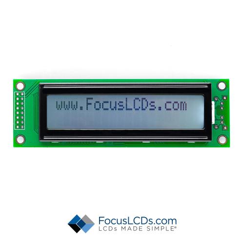 20x2 FSTN Character LCD C202B-FTW-LW65