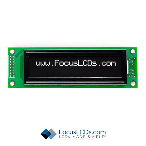 20x2 FSTN Character LCD C202B-KW-LW65