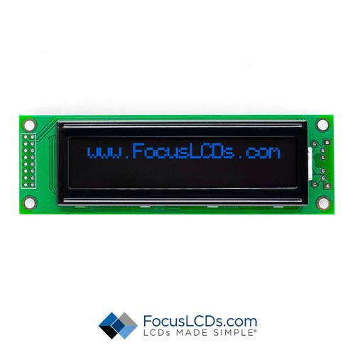 20x2 FSTN Character LCD C202B-KB-LW65