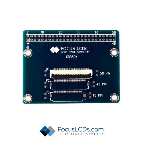50-Pin FPC Breakout Board KBB5050