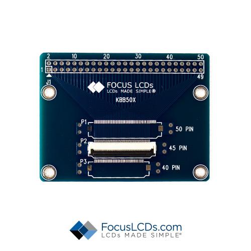 45-Pin FPC Breakout Board KBB5045