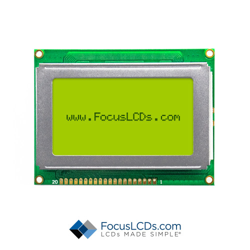 128x64 Graphic LCD G12864D-FTY-DW65