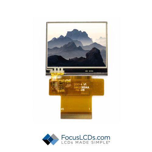 2.0 TFT Display Resistive TP E20RA-CW540-R