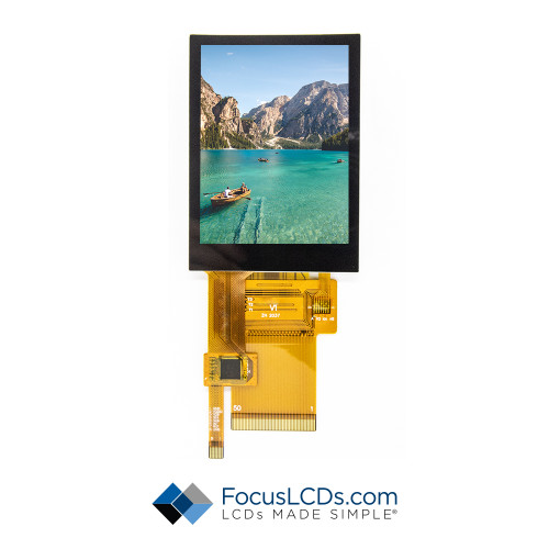 2.8 TFT Display Capacitive TP E28RA-I-CW600-C