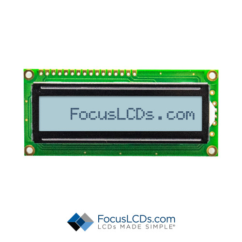 16x1 FSTN Character LCD C161A-FTW-LW65