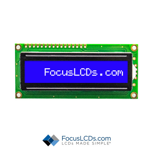 16x1 STN Character LCD C161A-BW-LW65