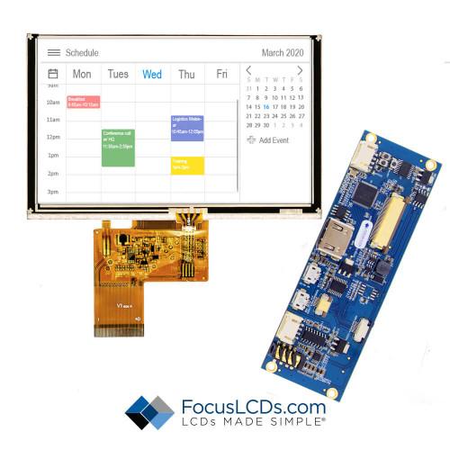 "5.0"" TFT HDMI Kit for E50RB-FW280-R"