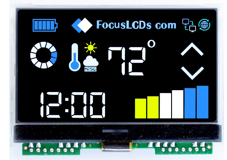 VFD replacement displays for the medical industry