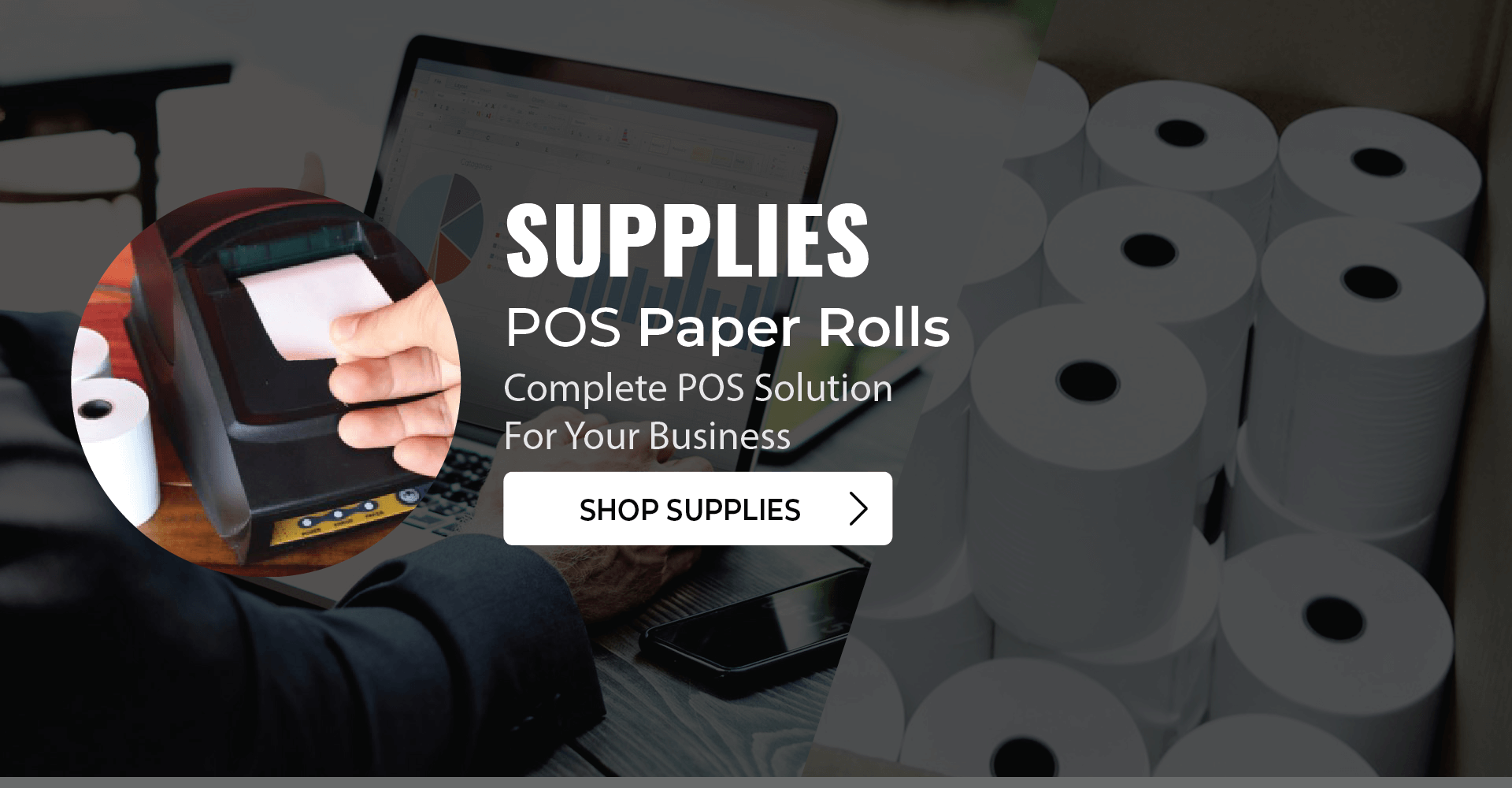 Supplies, Paper Rolls & more - TerminalDepot