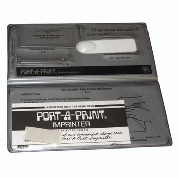 Port-A-Print Imprinter