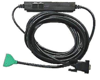 VeriFone MX8XX / 7000 Ethernet to PC DB9 Cable (Green)