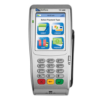 VeriFone VX680 192mb WiFi w/ Smartcard / EMV Reader Wireless Credit Card Machine