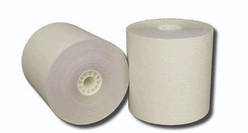 1 3/4 (44MM) x 150' White Single Ply Paper Rolls