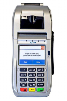 First Data FD150 Credit Card Terminal