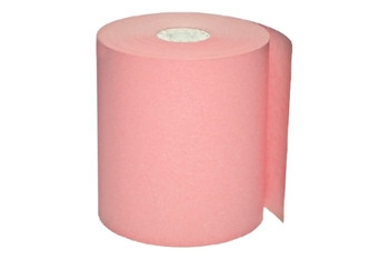"""3 1/8"""" x 220' Pink Thermal Paper Rolls"""