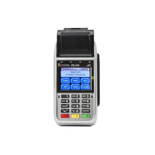 First Data FD410-DW Credit Card Terminal