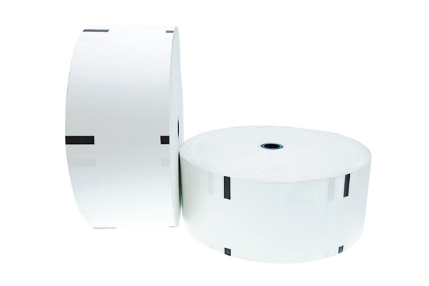 NCR Personas M 76 Thermal Paper Rolls w/ Sense Mark