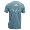 Ultimate Direction Hardrock 100 Tee, gray, rear view