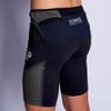 Man wearing Ultimate Direction Men's Hydro Skin Short, rear view