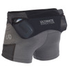 Ultimate Direction Women's Hydro Skin Short, Heather Gray, rear view