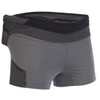 Heather Gray - Ultimate Direction Women's Hydro Skin Short, front view
