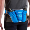 Man wearing Ultimate Direction Ultra Belt 5.0, as seen from behind