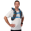 Man wearing Ultimate Direction Adventure Vest 5.0, front view